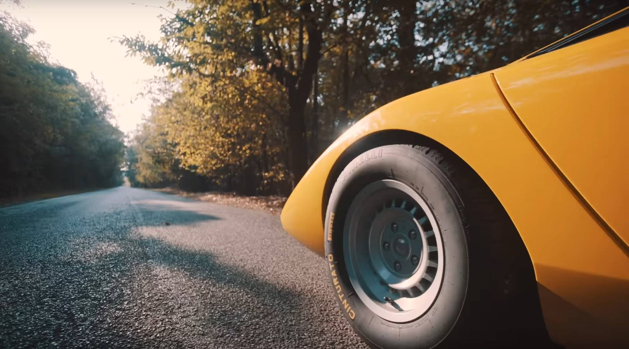 Lamborghini LP500 Concept. Foto: Divulgação