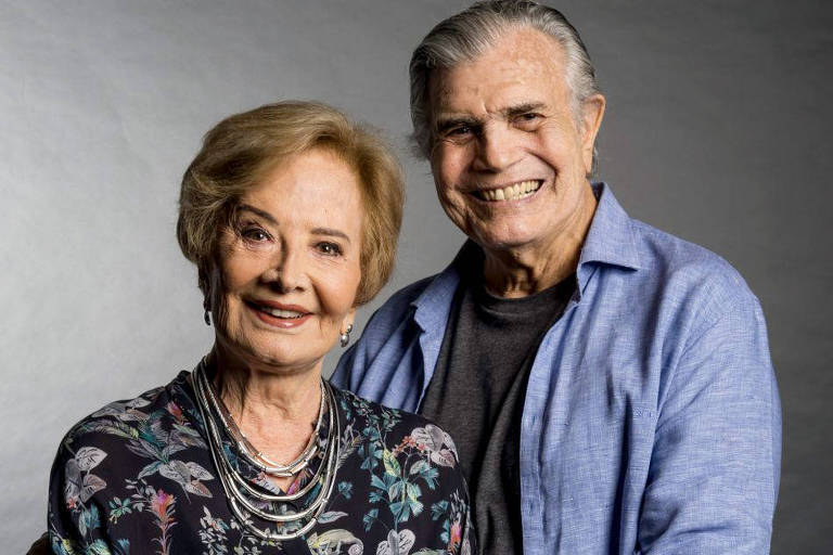 Glória Menezes e Tarcísio Meira. Foto: Globo