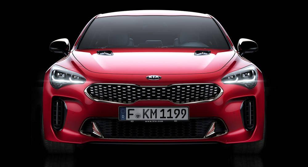 Kia Stinger: O GT virá para o Brasil e promete levar a marca coreana a comprar uma briga com os titãs Audi e BMW. Foto: Divulgação