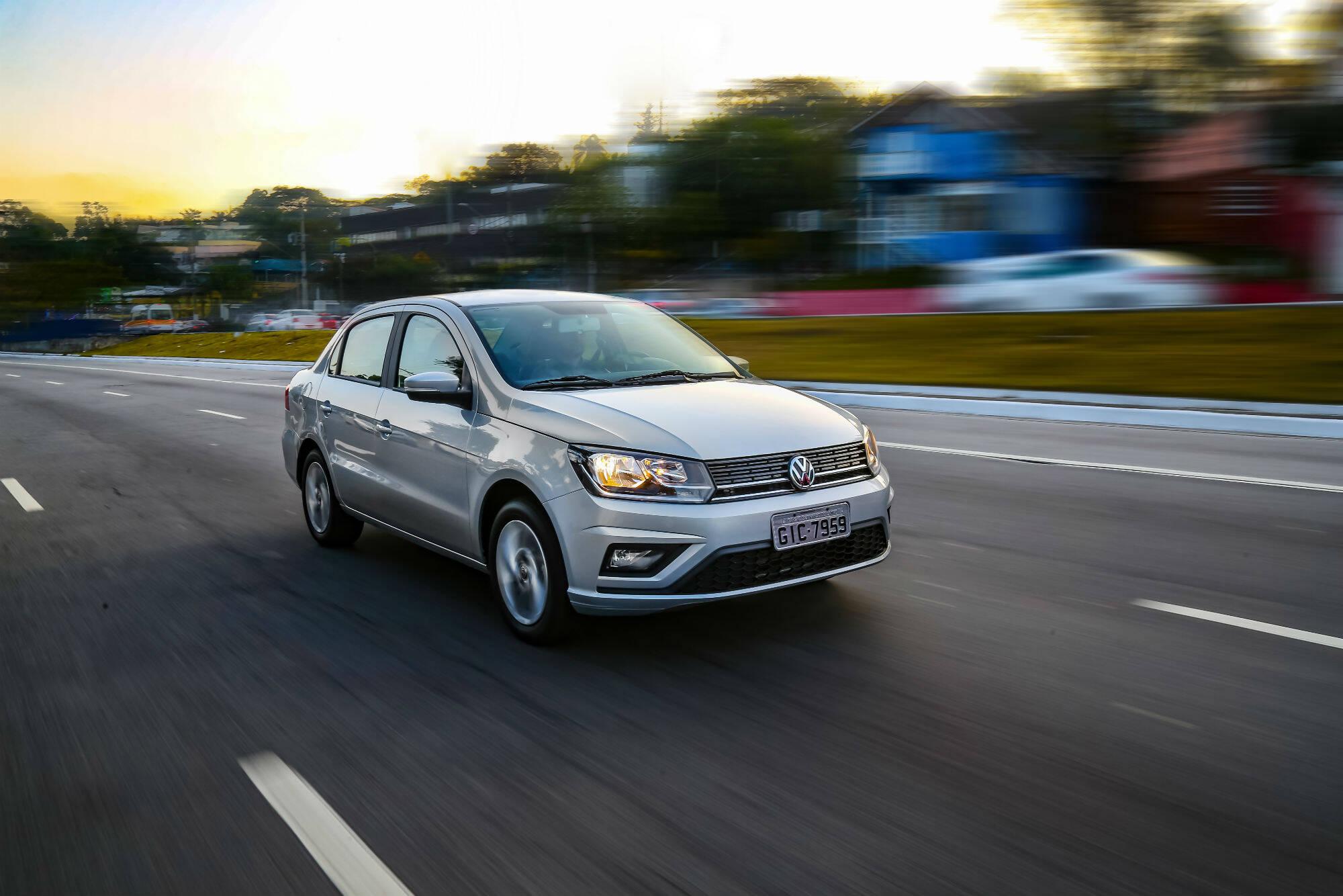 VW Voyage 1.6 automático. Foto: Divulgação