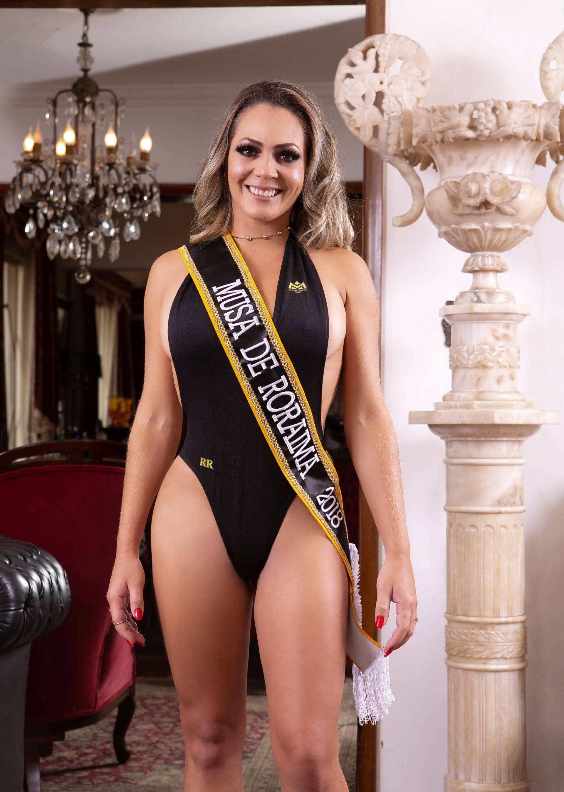 Candidata do Musa do Brasil. Foto: Daniel Cespedes / M2 Mídia