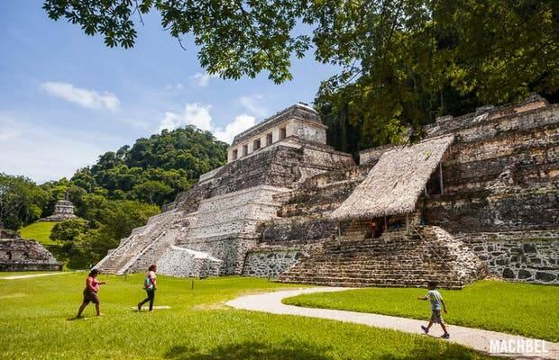 Ruínas Palenque, no México. Foto: Reprodução