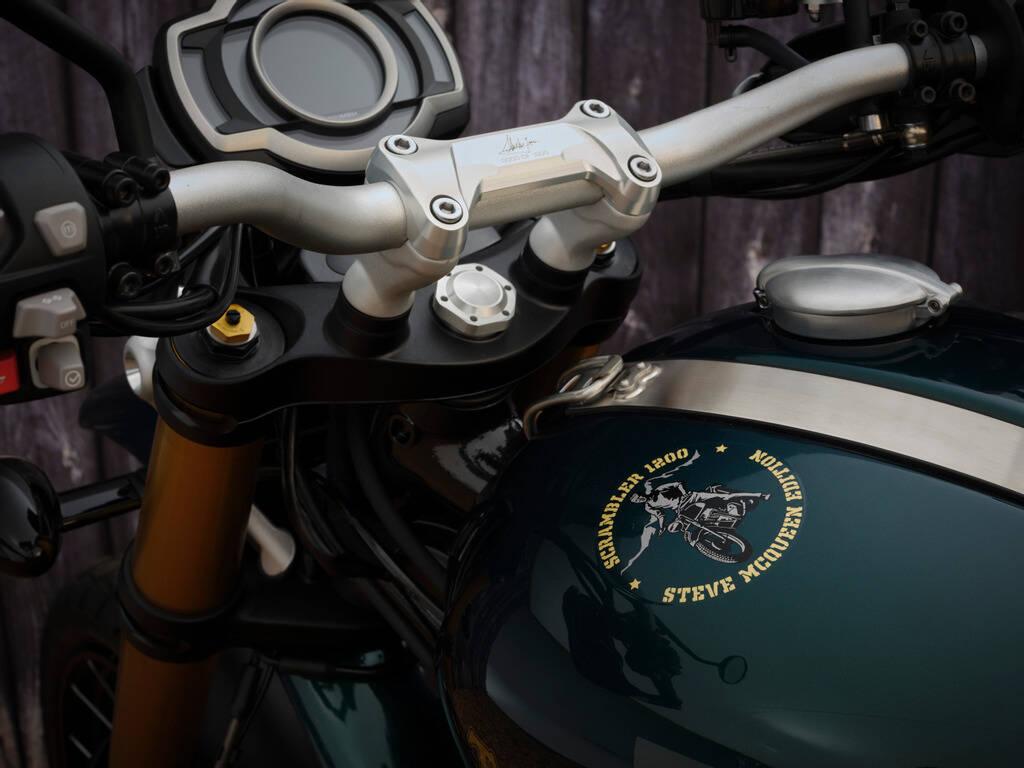 Triumph Scrambler 1200 Steve McQueen. Foto: Divulgação
