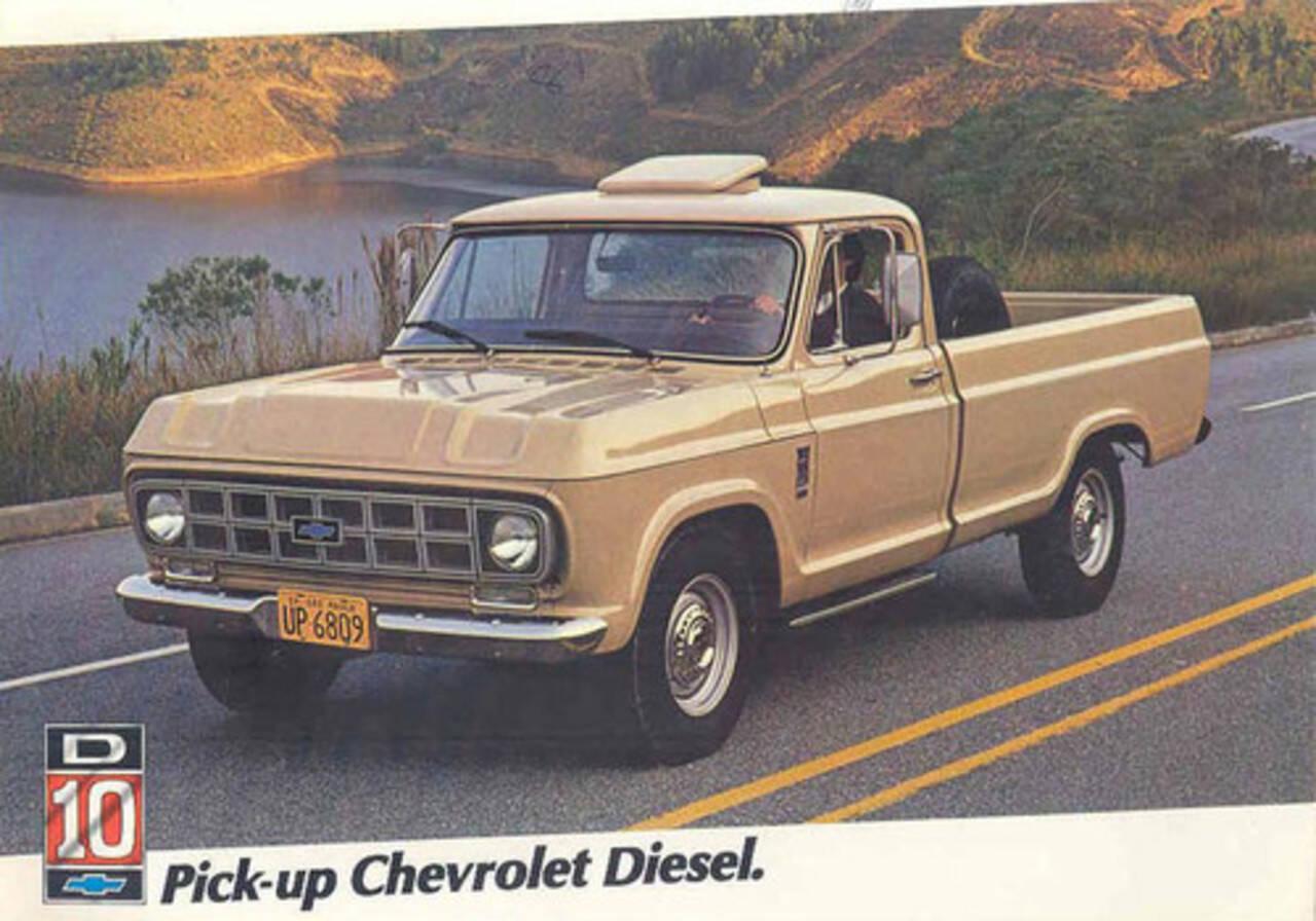 Chevrolet D10/C10: 603 . Foto: Divulgação