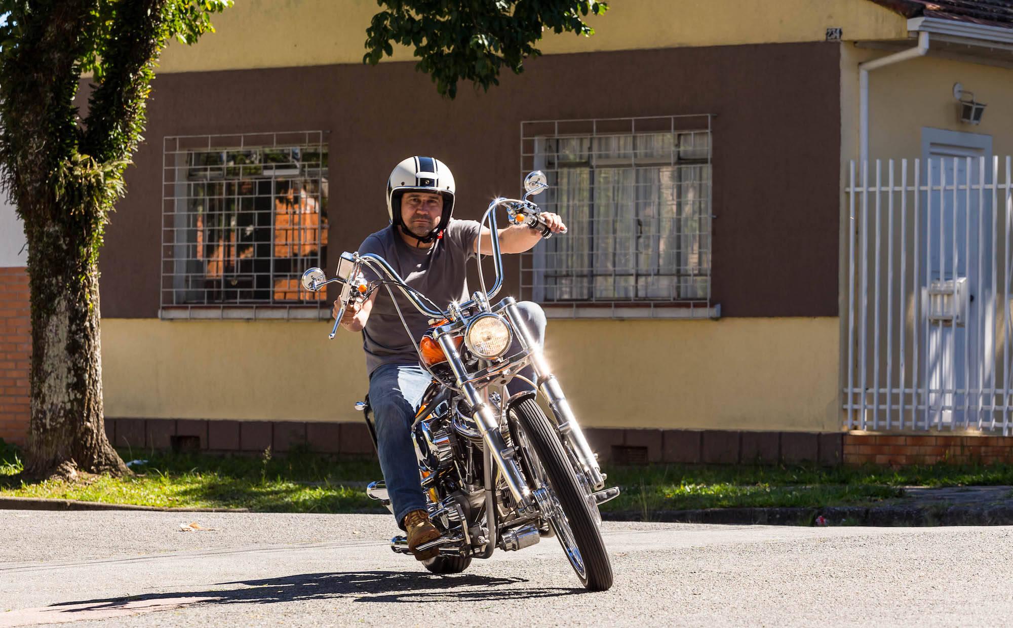 Harley-Davidson Bobber. Foto: Divulgação