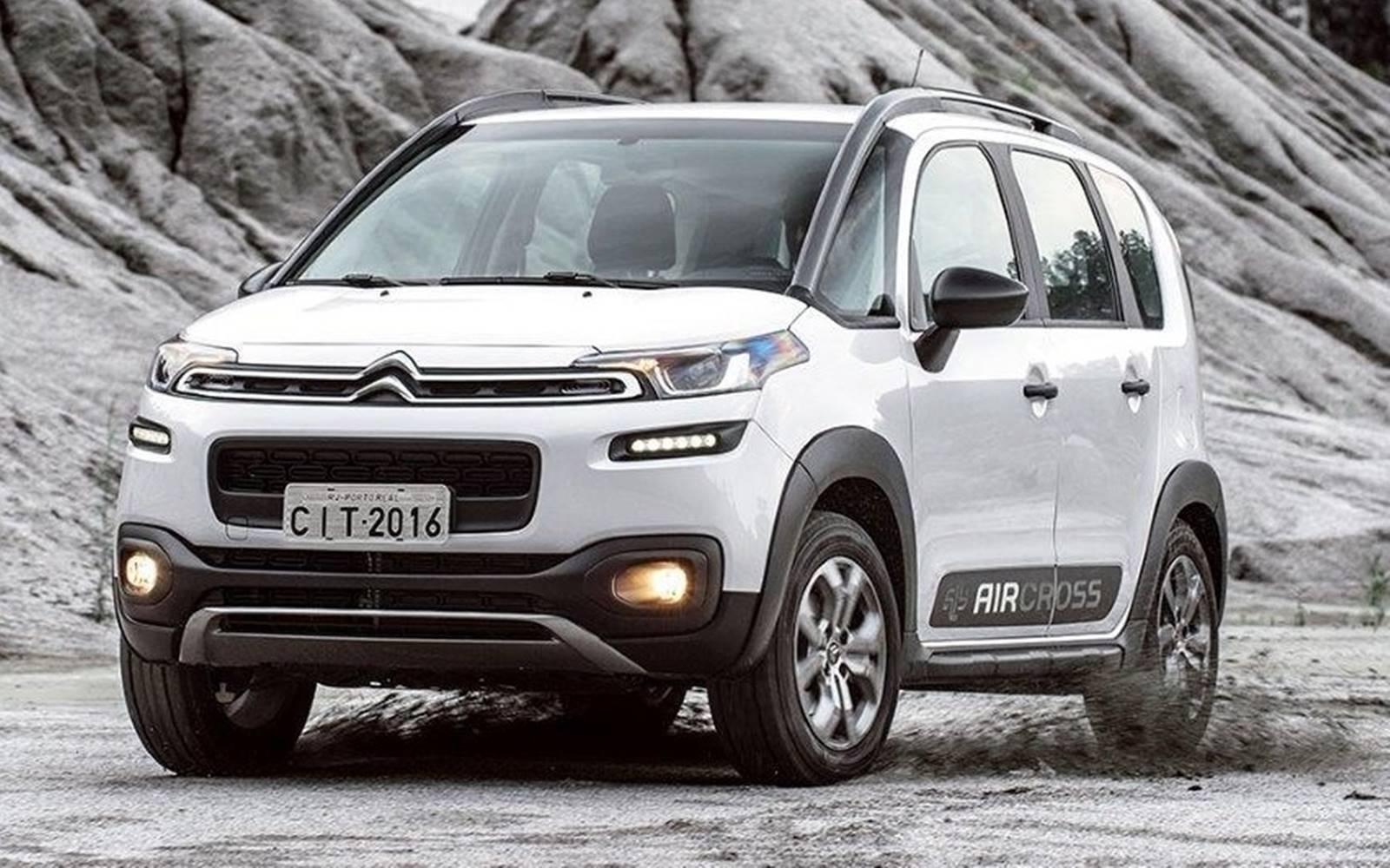9. Citroën Aircross: 14,48%. Foto: Divulgação