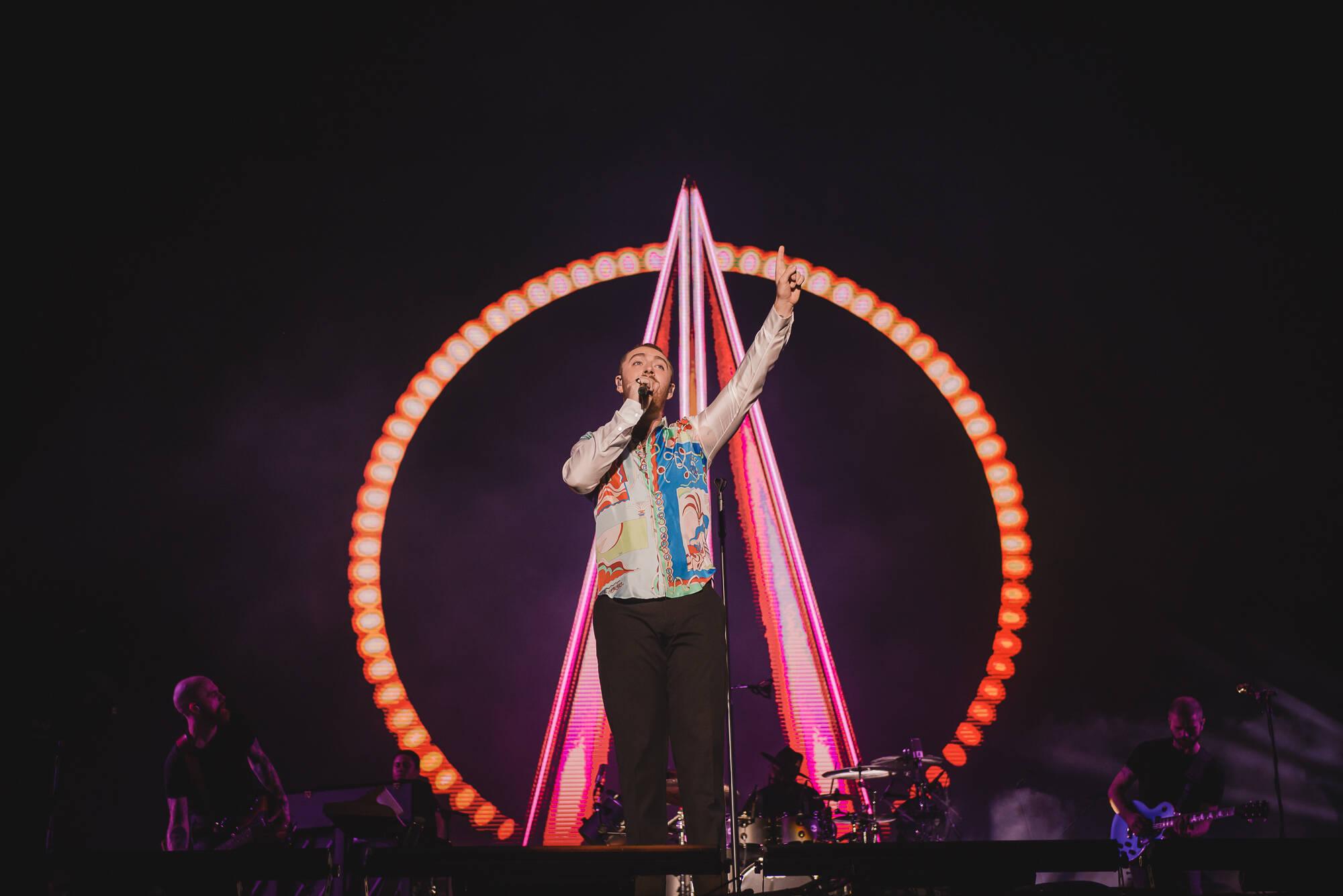 Sam Smith faz show emocionante no Lollapalooza 2019 . Foto: Divulgação / Lollapalooza