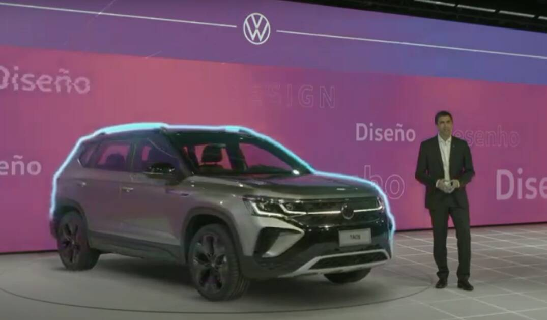 VW Taos - Premiere. Foto: Divulgação