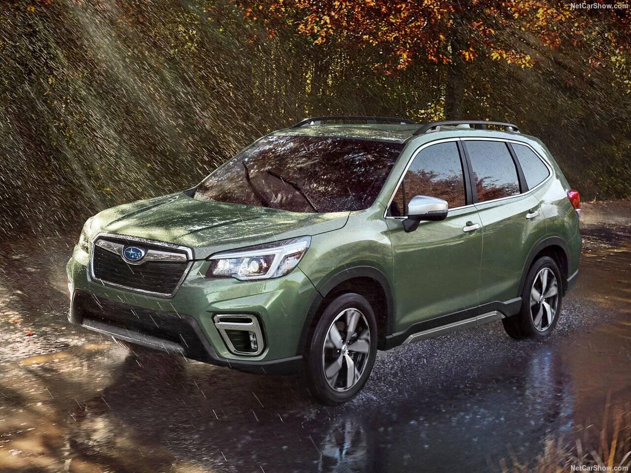 Subaru Forester. Foto: Divulgação
