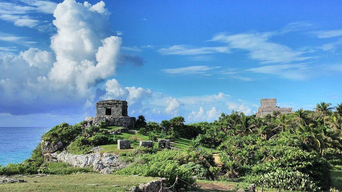 Ruínas Tulum, no México. Foto: Reprodução
