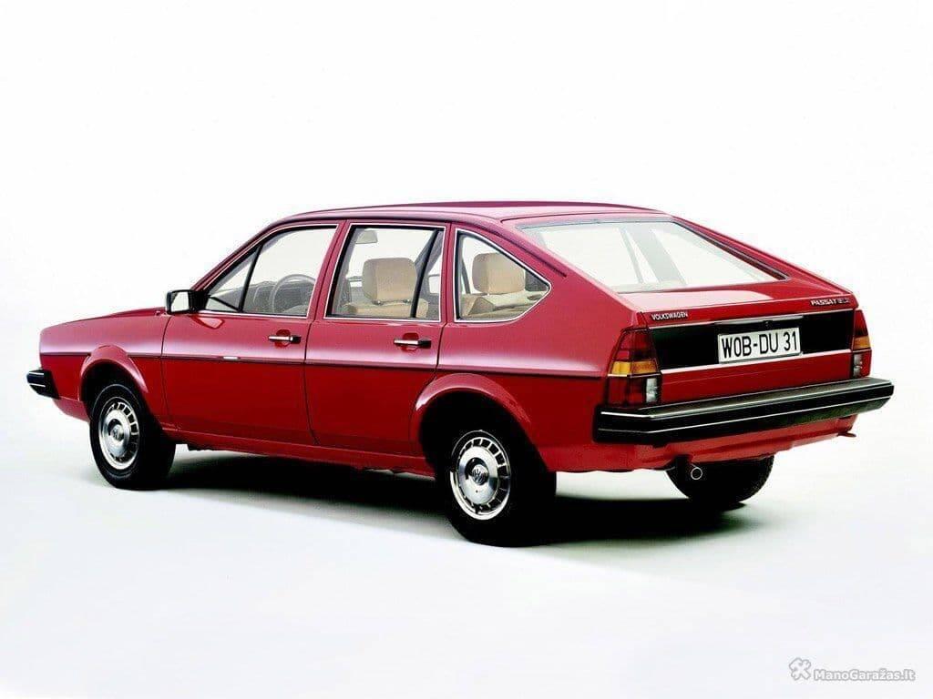 Passat Alemão foi introduzido no início dos aos 1980 e serviu de base para o nosso Santana, fabricado a partir de 1984.. Foto: Divulgação