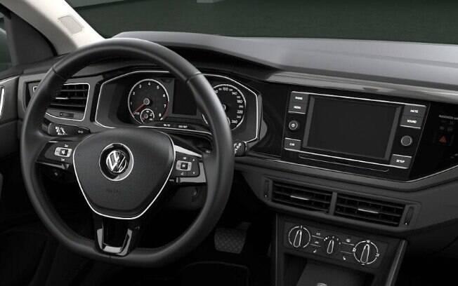 VW Virtus. Foto: Divulgação