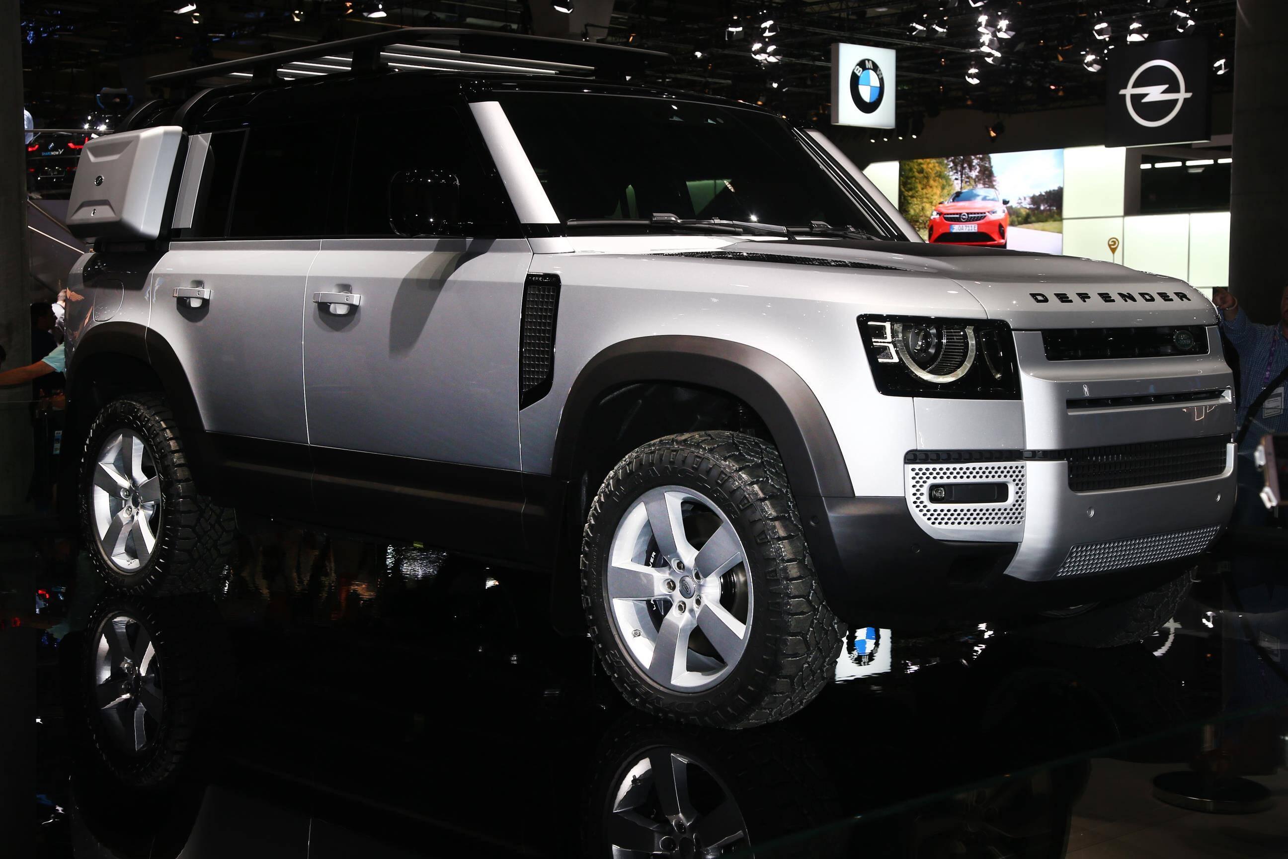 Land Rover Defender. Foto: Newspress