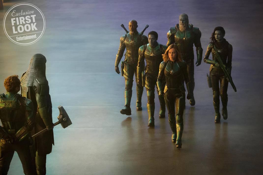 """Cenas do filme """"Capitã Marvel"""". Foto: Divulgação"""
