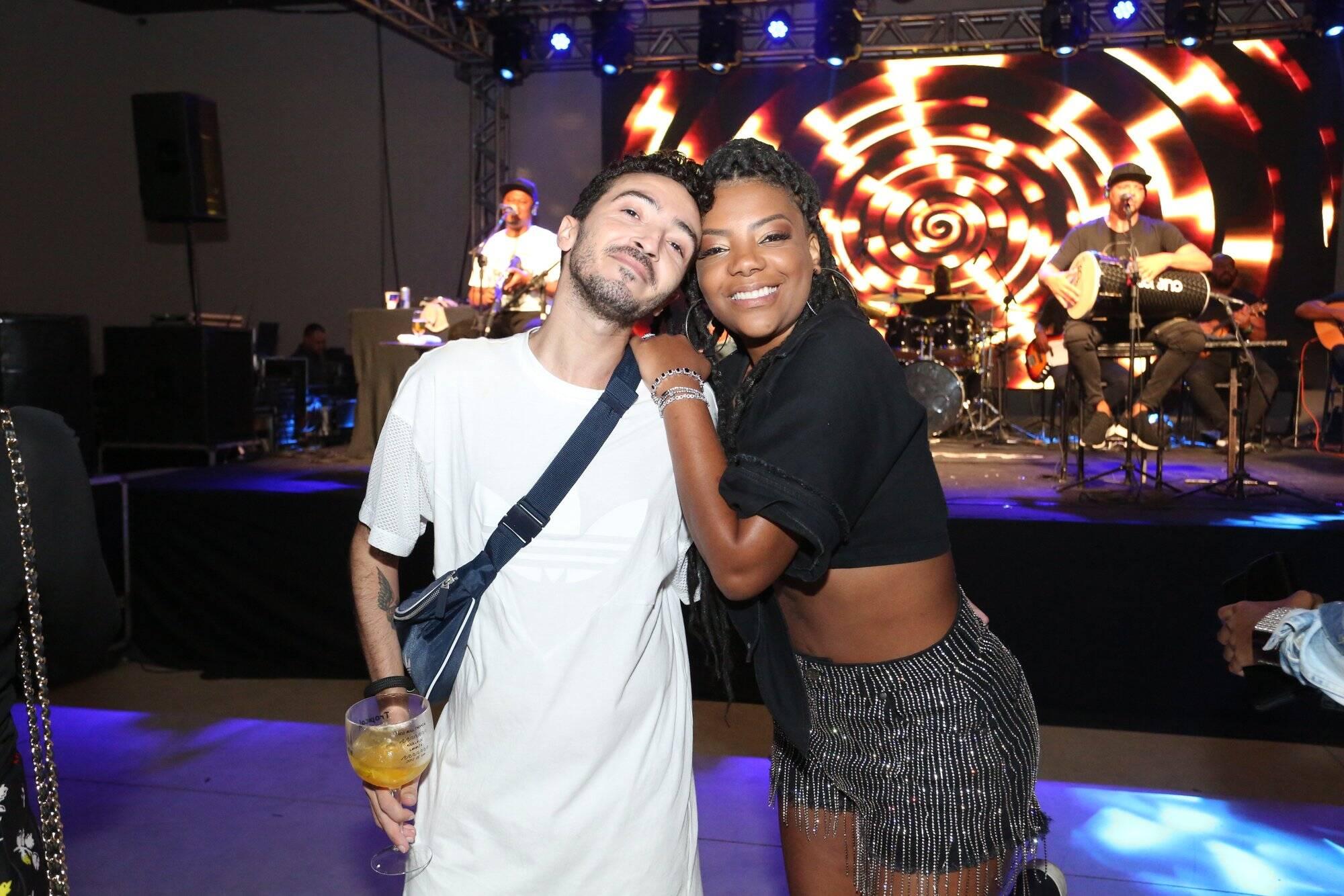 Ludmilla reuniu parentes, amigos e celebridades para comemorar seus 23 anos. Foto: Reginaldo Teixeira/ CS Eventos