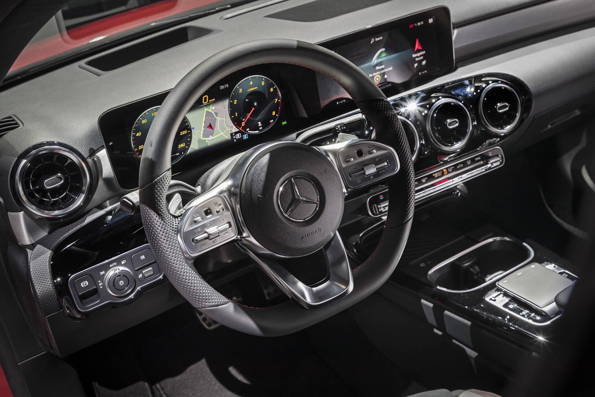 Mercedes-Benz Classe A. Foto: Divulgação