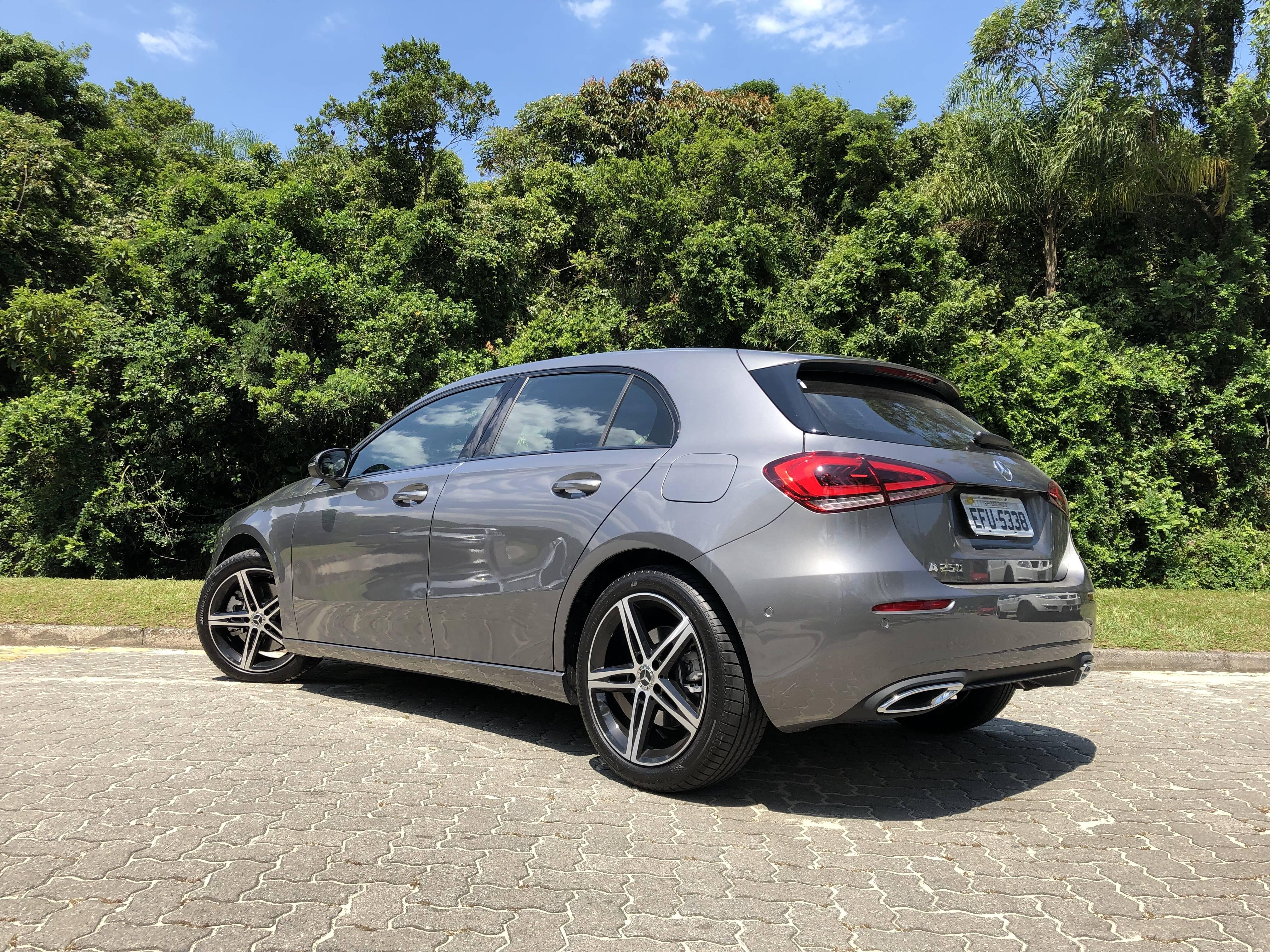 Mercedes-Benz Classe A. Foto: Cauê Lira/iG Carros
