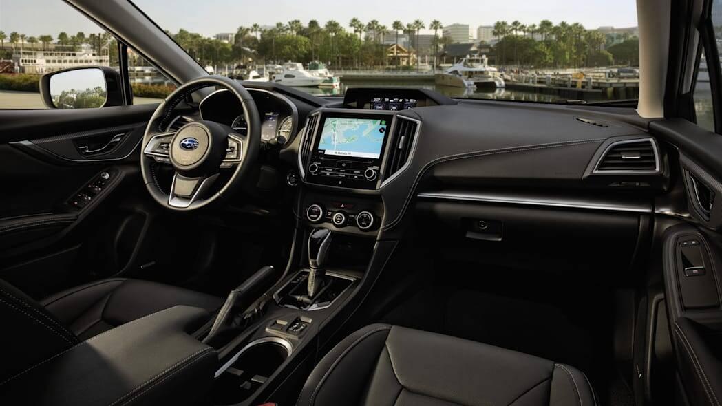 Subaru Impreza 2022; a novidade maior está na adição da cor azul escuro chamado Sapphire Blue Pearl.. Foto: Divulgação