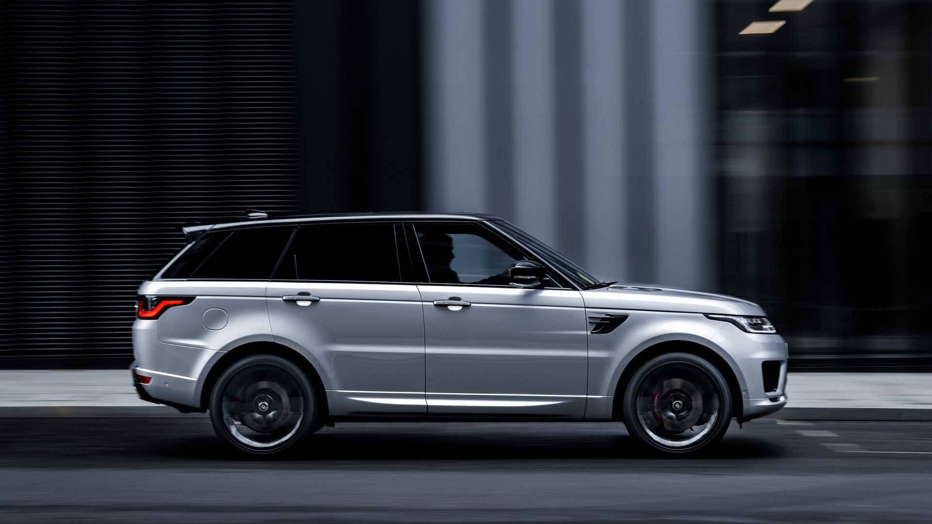 Range Rover Sport HST. Foto: Divulgação