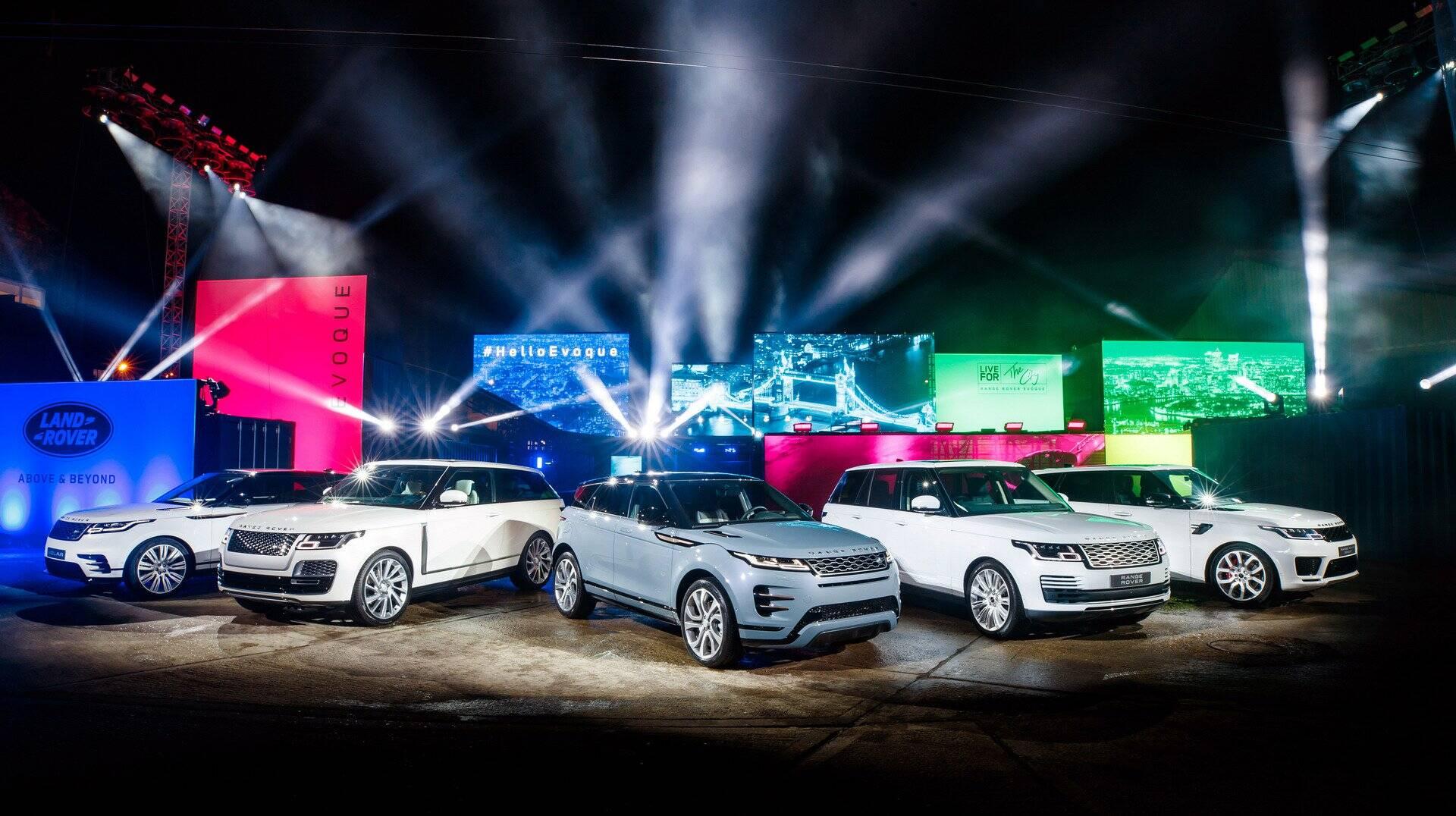 Range Rover Evoque. Foto: Divulgação