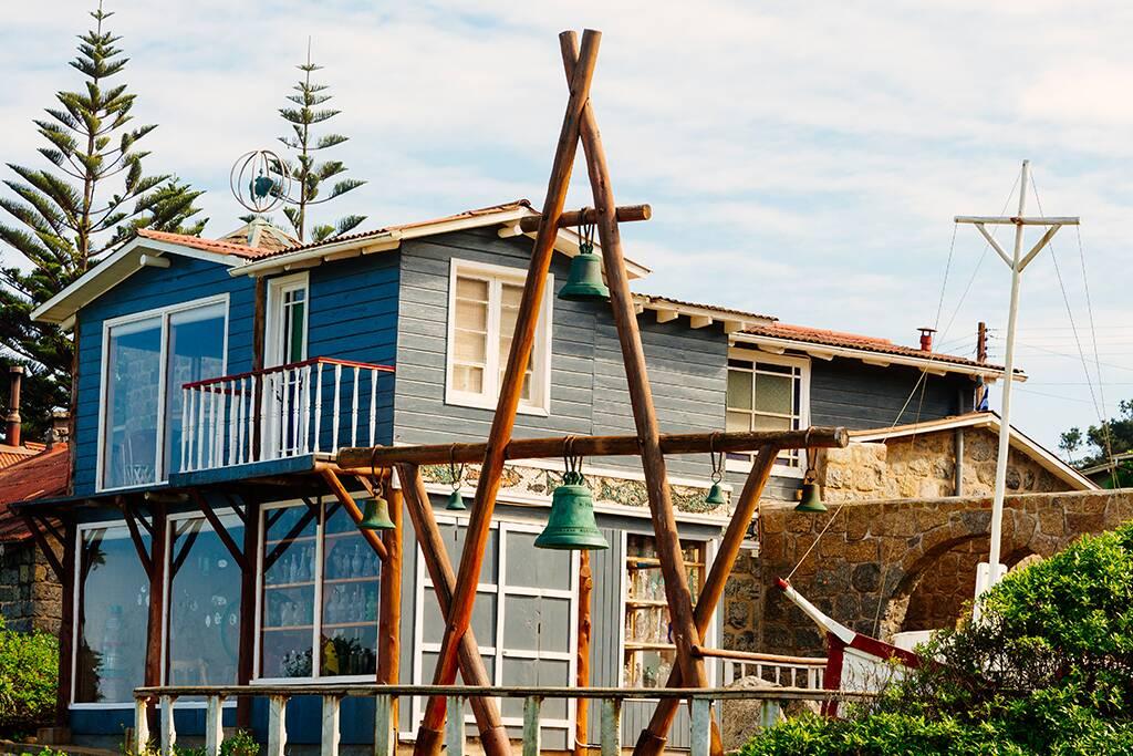 Casa Museu do Poeta Pablo Neruda, em Isla Negra. Foto: Reprodução. Foto: Reprodução