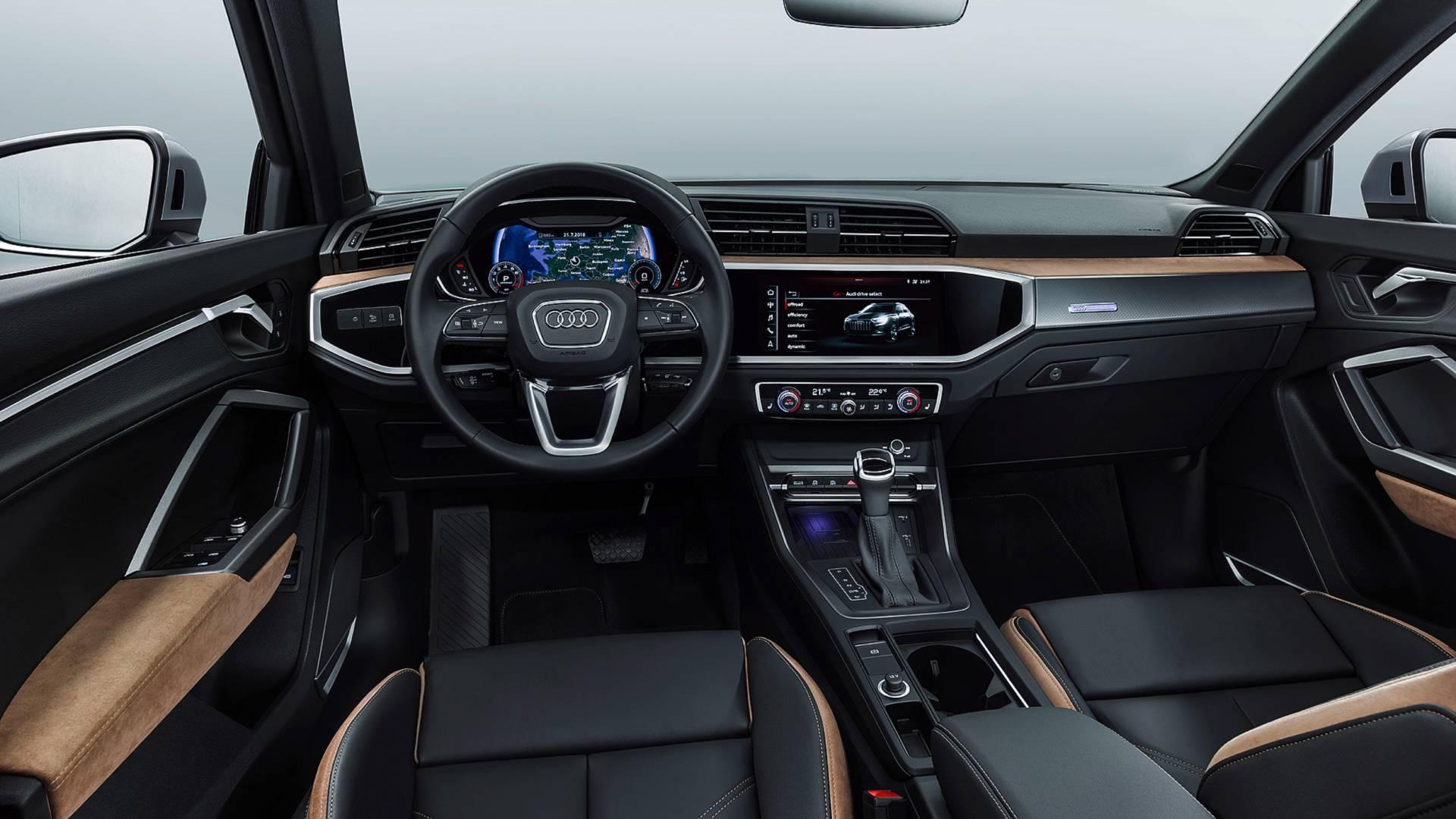 Audi Q3. Foto: Divulgação