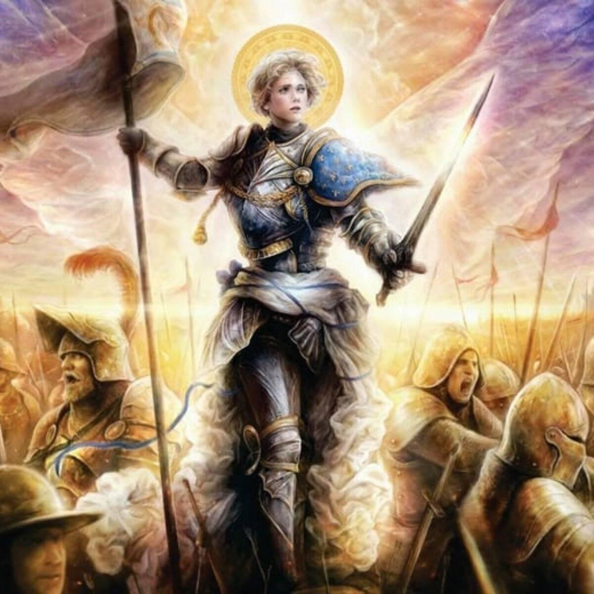 Santa Joana diz respeito à figura de Joana D'Arc. Foto: Reprodução/Alto Astral