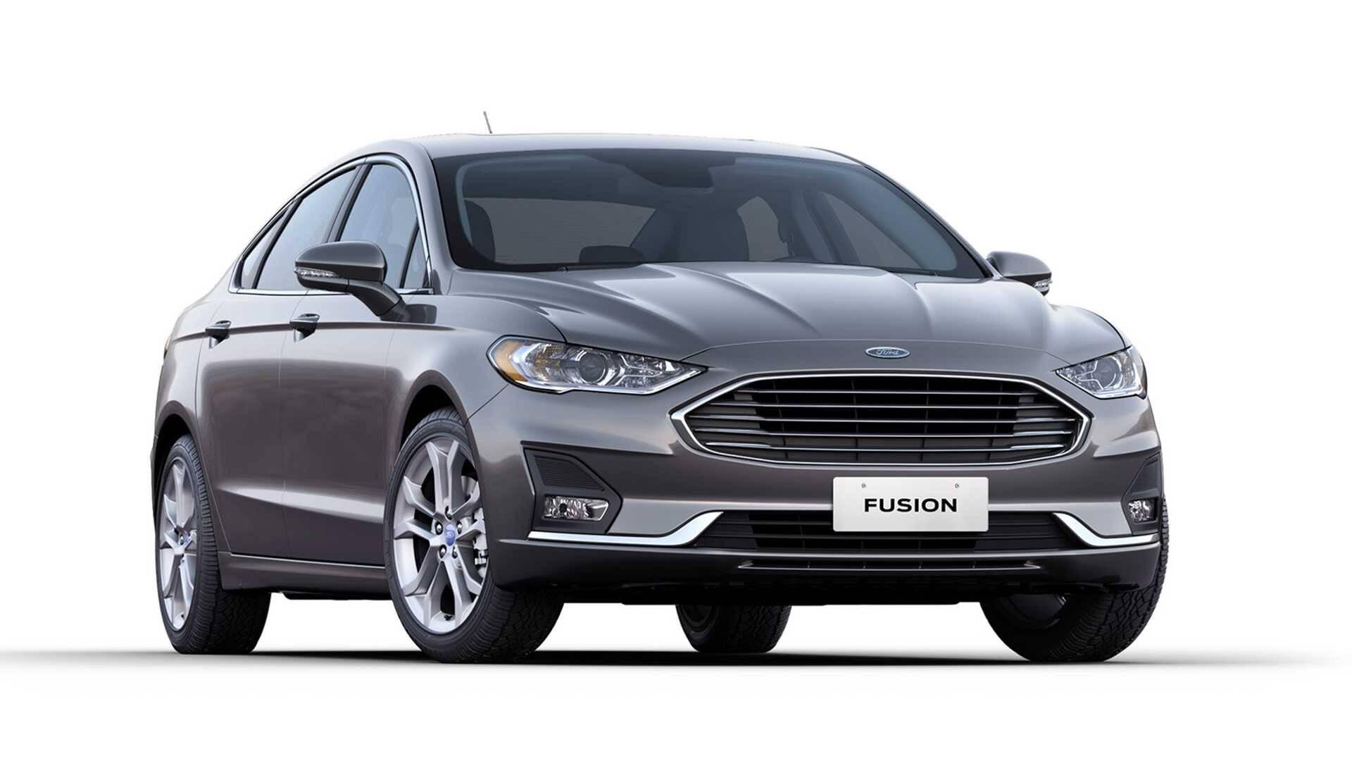 Ford Fusion. Foto: Divulgação