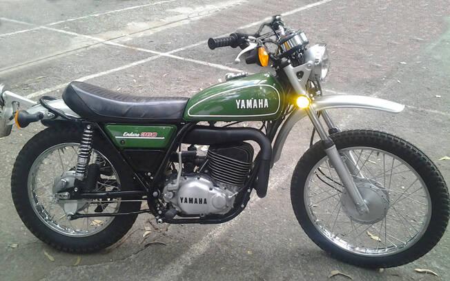 Yamaha DT 360 de 1974. Foto: Gabriel Marazzi