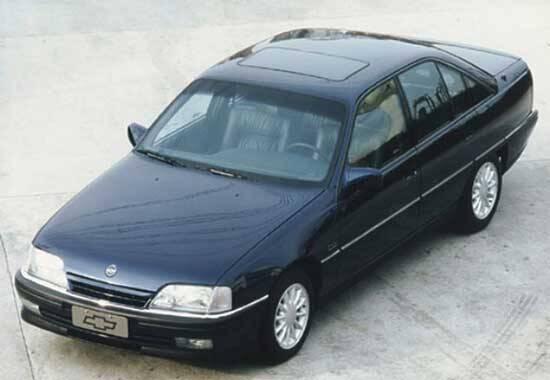 Substituto do Opala, Chevrolet Omega foi o último modelo grande da GM do Brasil. Foto: Divulgação