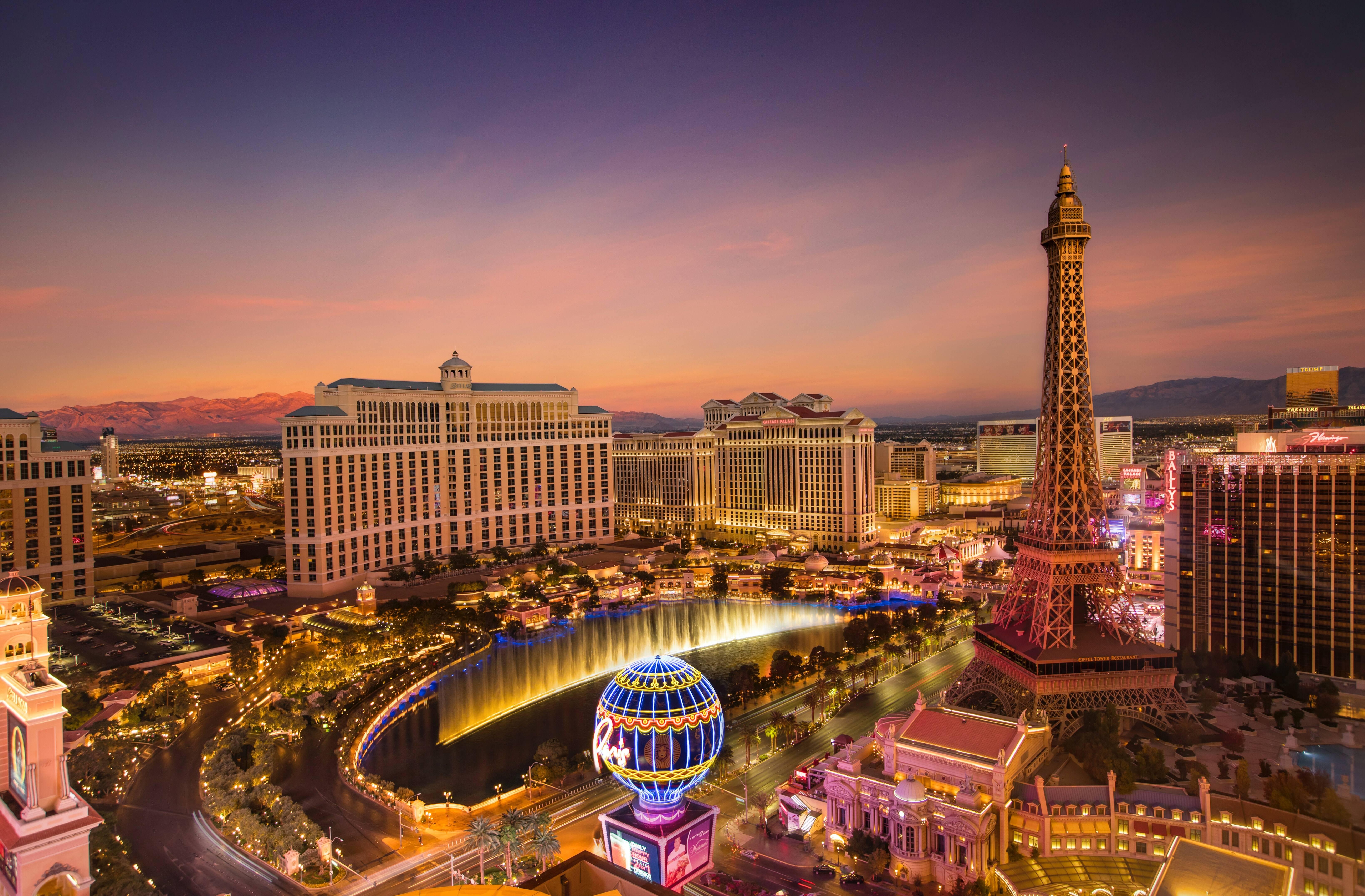 Turismo em Las Vegas. Foto: Unsplash