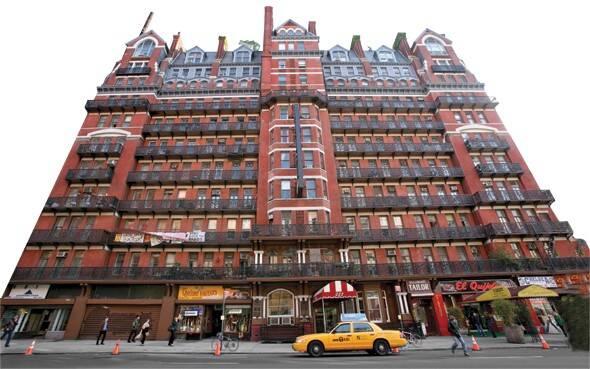 Chelsea Hotel, em Nova York. Foto: Divulgação