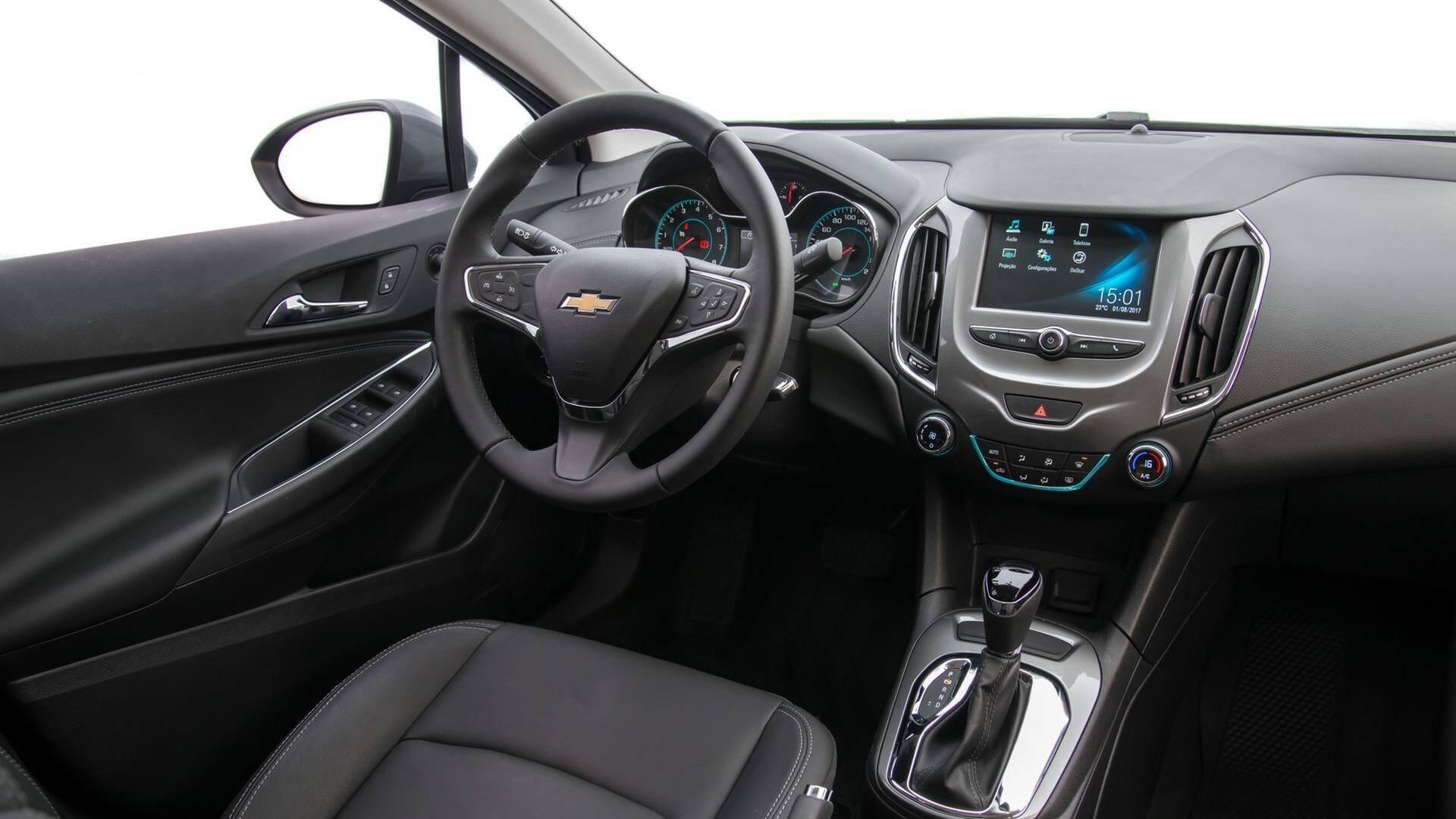 Chevrolet Cruze 2018. Foto: Divulgação