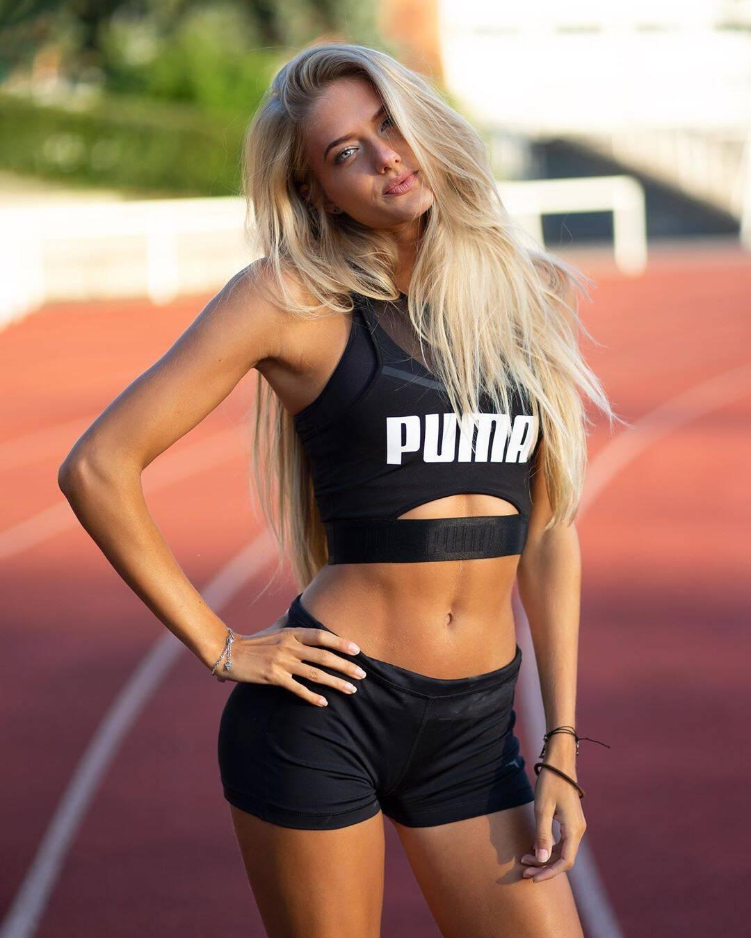 """Atleta """"mais sexy do mundo"""" treina de olho na olimpíada. Foto: Instagram"""