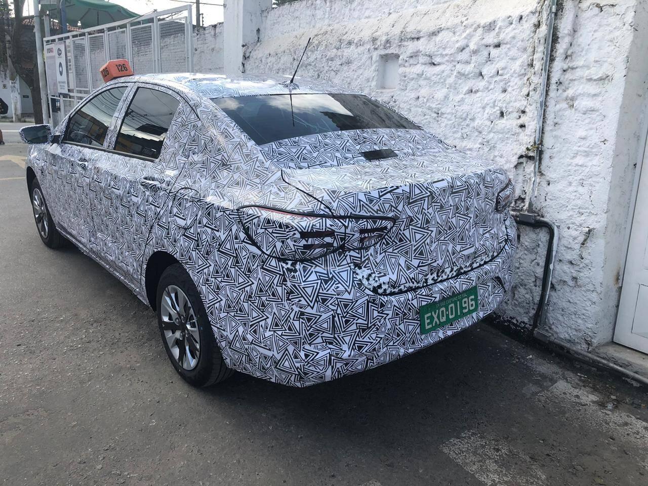 Chevrolet Onix Sedan. Foto: André Jalonetsky