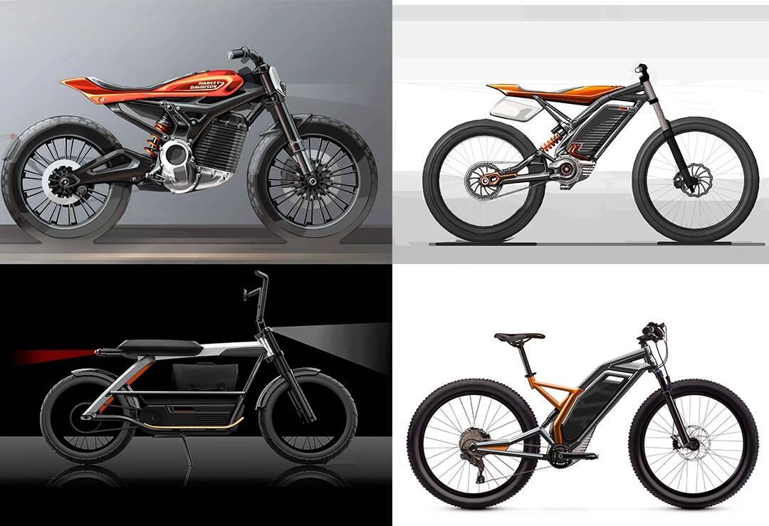 Novas Harley-Davidson. Foto: Divulgação