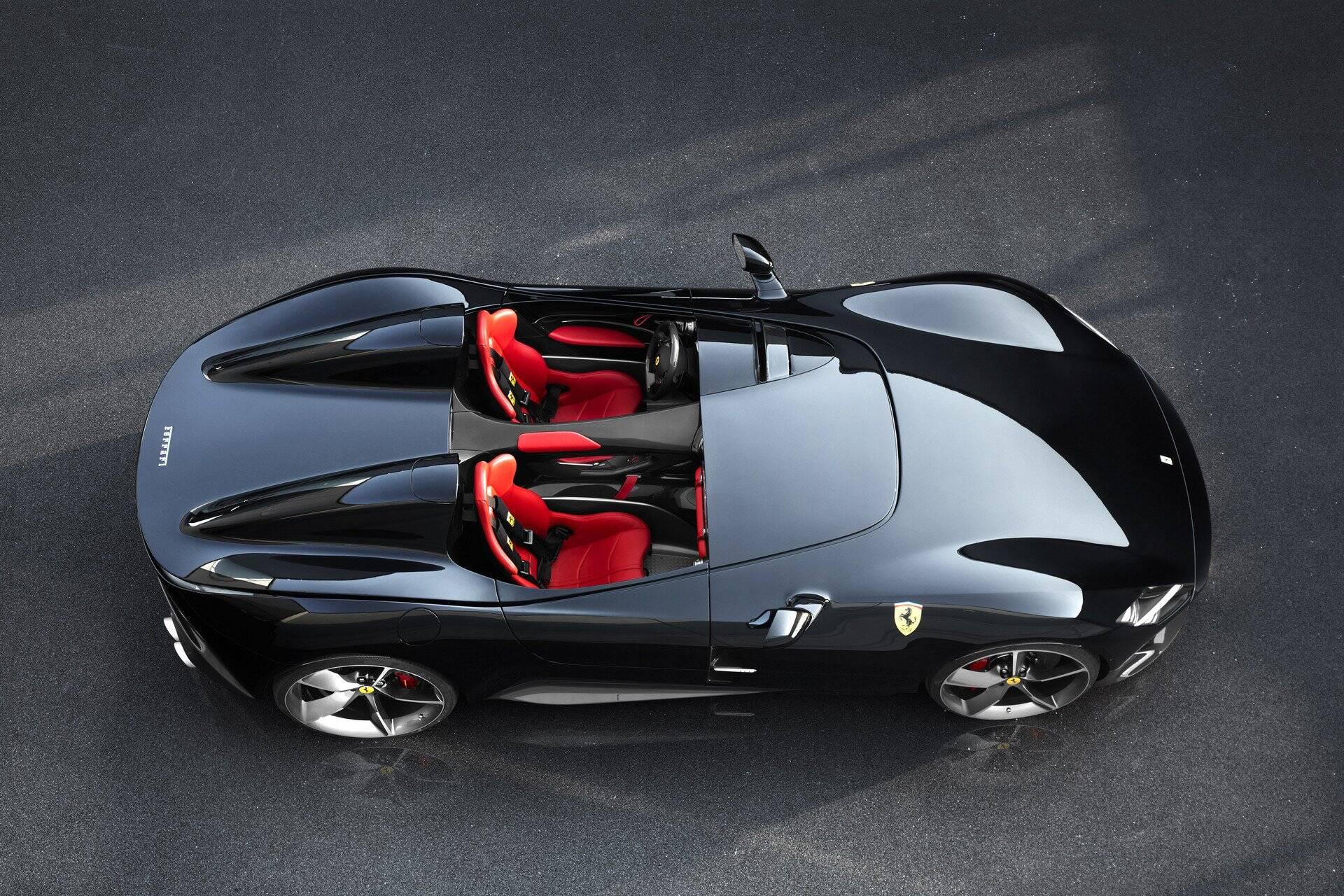 Ferrari SP1. Foto: Divulgação