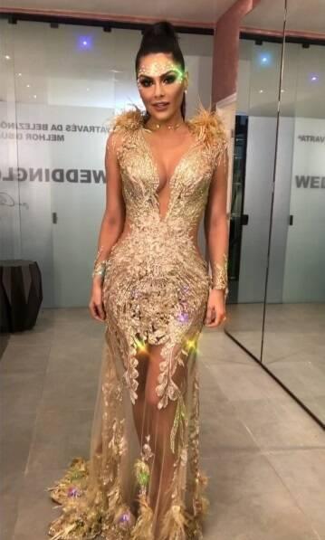 Famosos comparecem ao Baile da Vogue 2018. Foto: Reprodução/Instagram
