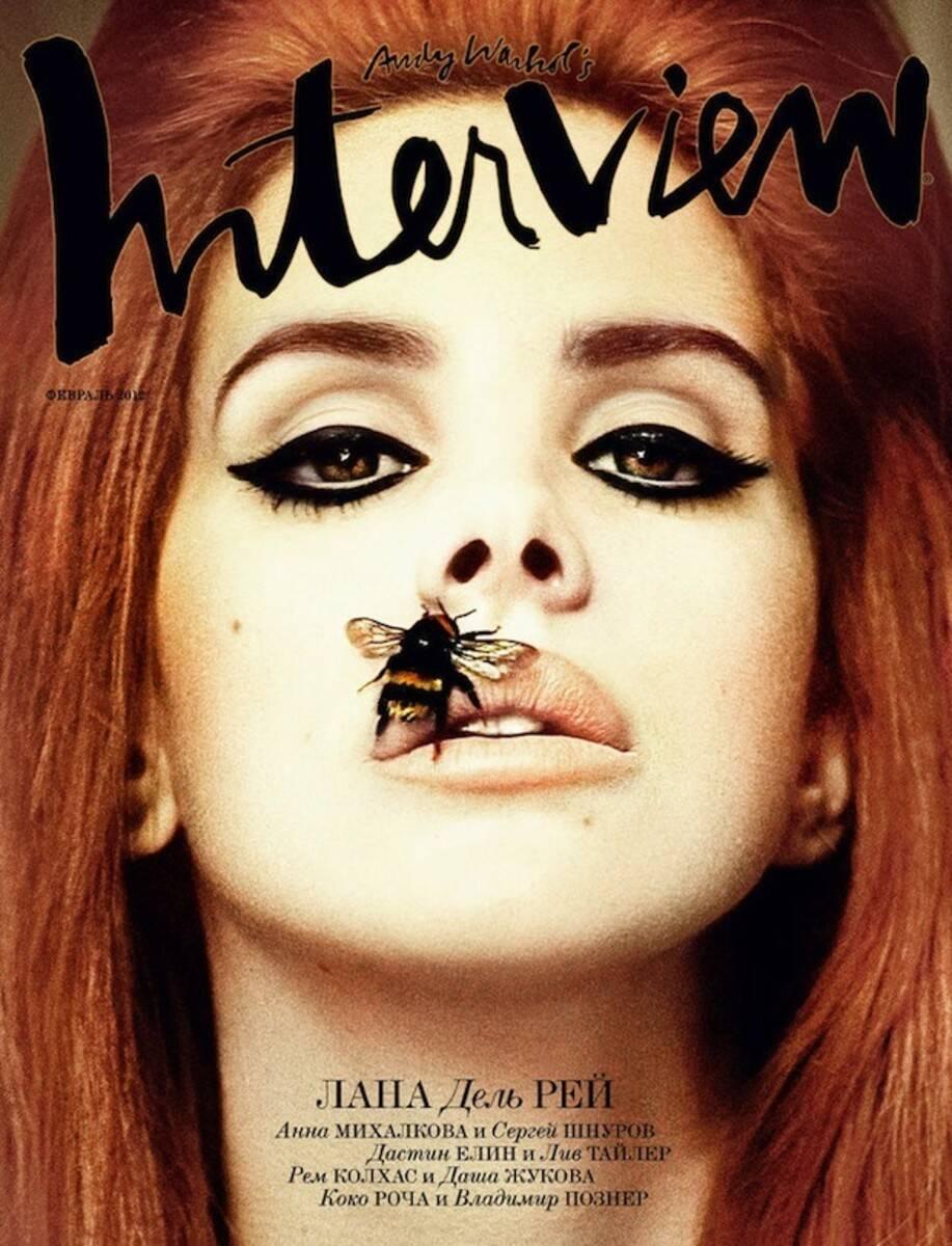 Capas da revista Interview, revista fundada pelo artista Andy Warhol. Foto: Divulgação
