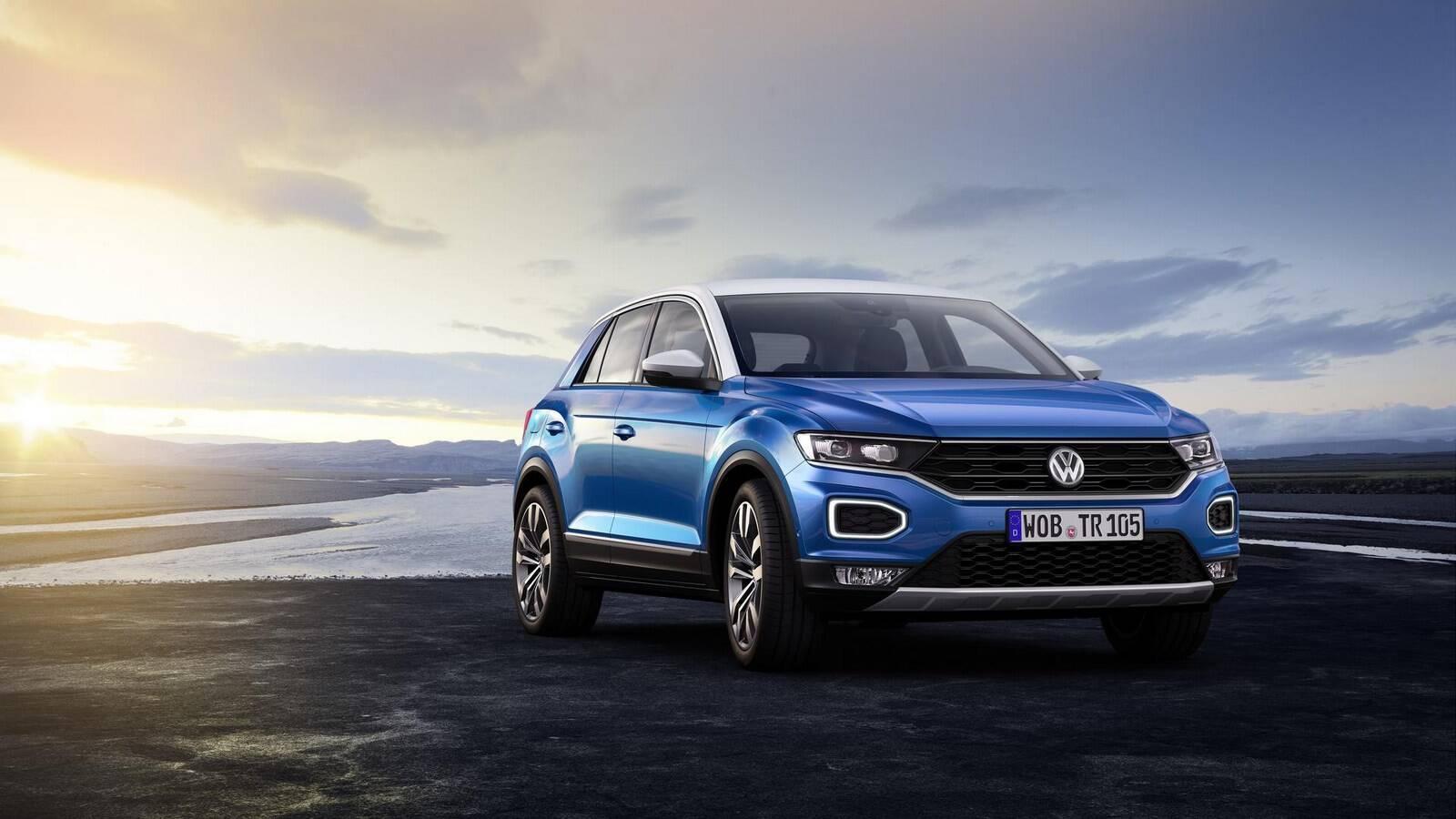 Volkswagen T-Roc. Foto: Divulgação