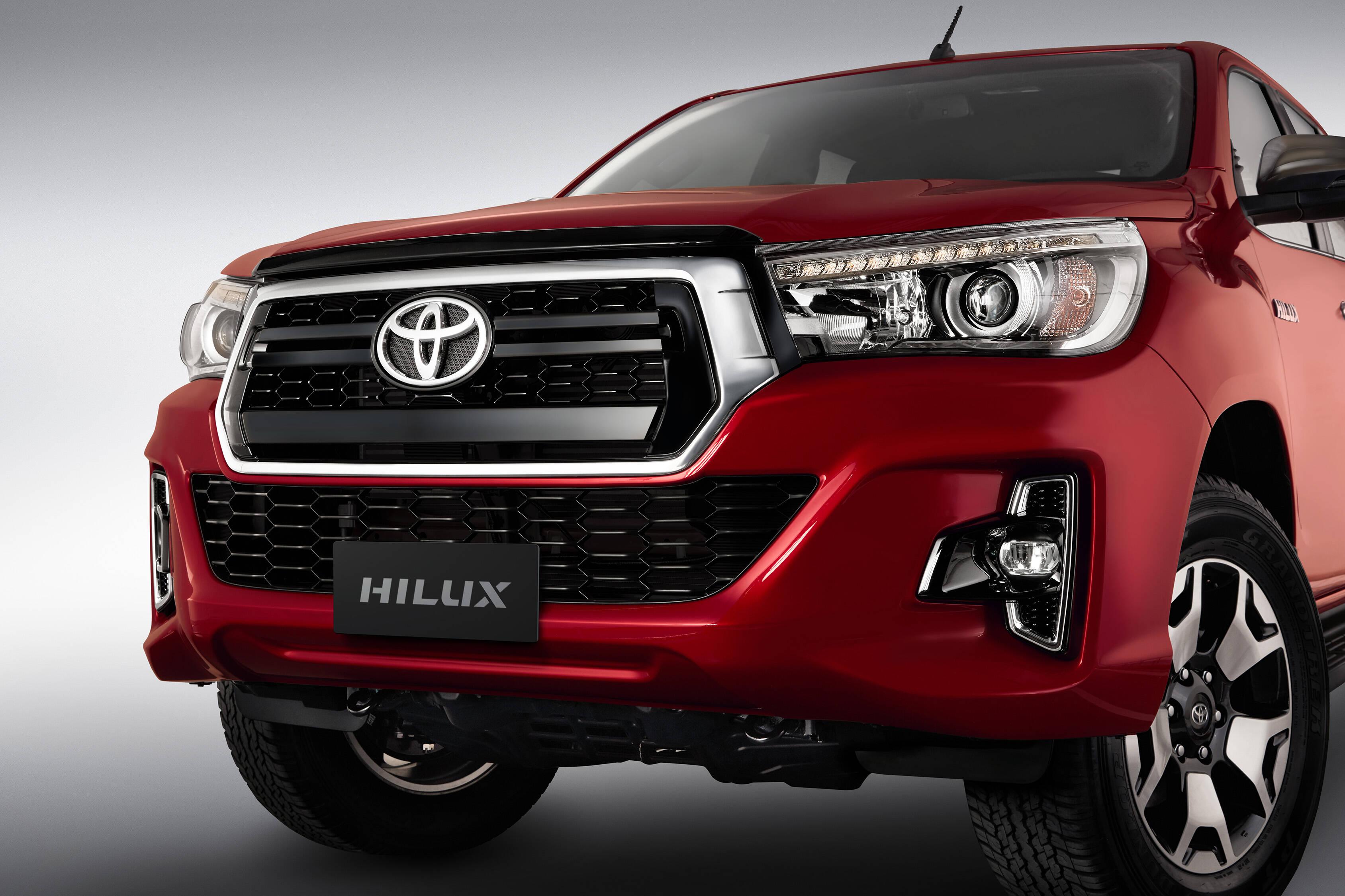 Toyota Hilux 2019. Foto: Divulgação