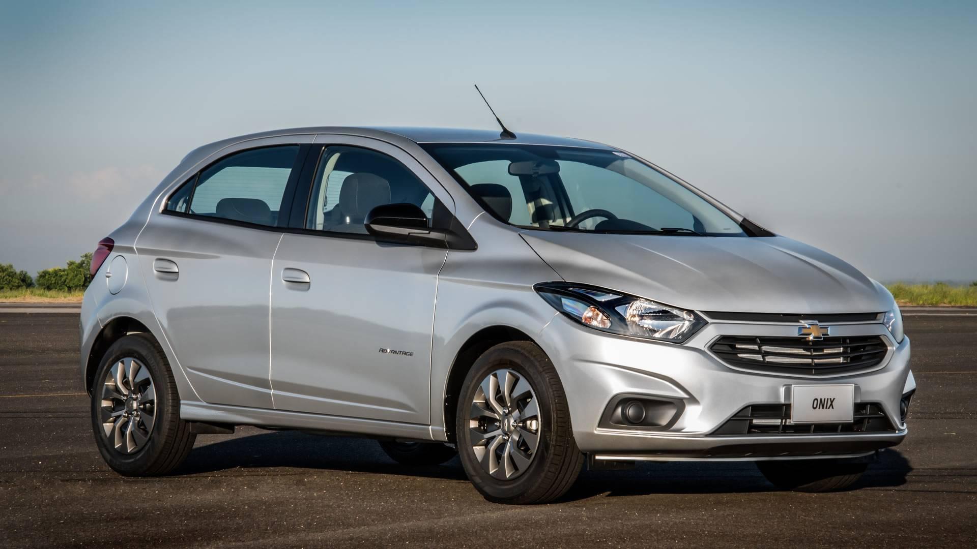 Chevrolet Onix - hatch compacto, 9,3% de depreciação depois de um ano. Foto: Divulgação