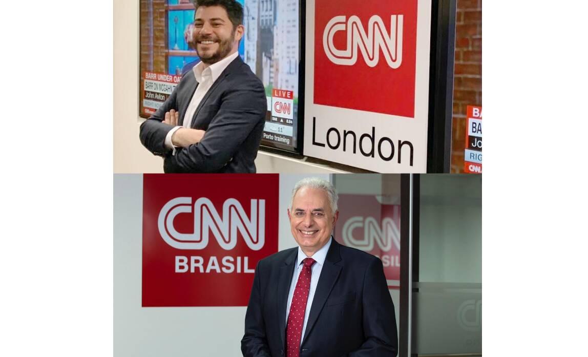 Na terça-feira (04) a CNN Brasil anunciou a contratação dos primeiros nomes que irão compor sua equipe de apresentadores: William Waack e Evaristo Costa. A notícia movimentou os telespectadores e gerou polêmica. Foto: Reprodução/Twitter