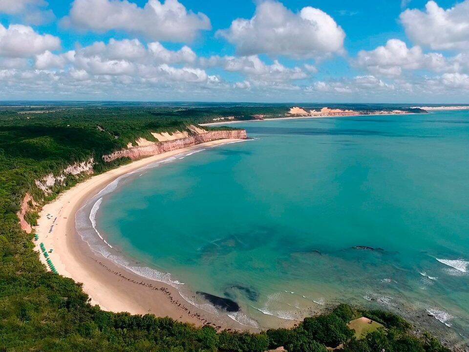 A Baía dos Golfinhos oferece privacidade e clima de descompressão aos visitantes. Foto: Reprodução/Pipa.com.br