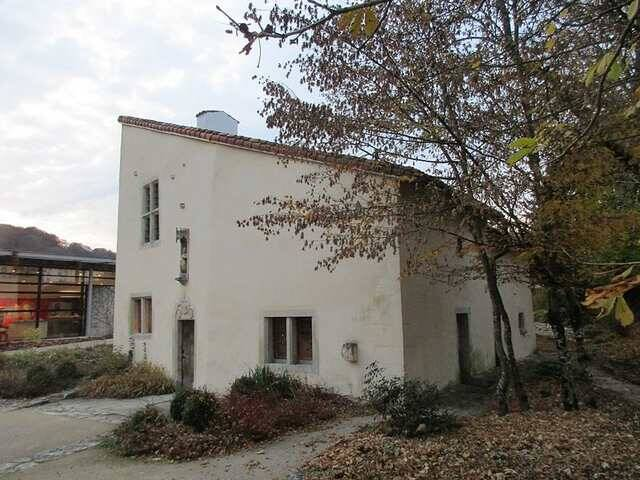 Casa onde nasceu e viveu Joana D'Arc. Foto: Reprodução