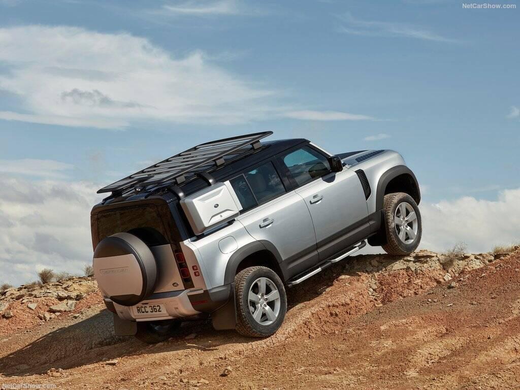 Land Rover Defender . Foto: Divulgação