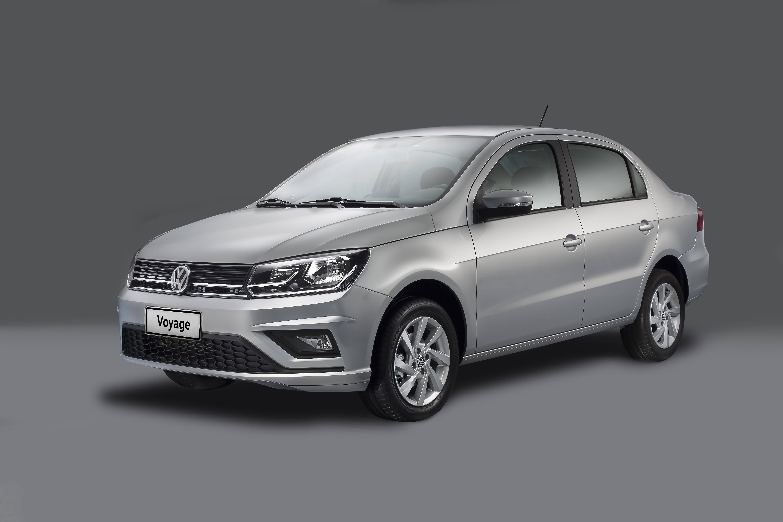 Volkswagen Gol e Voyage 2019. Foto: Divulgação