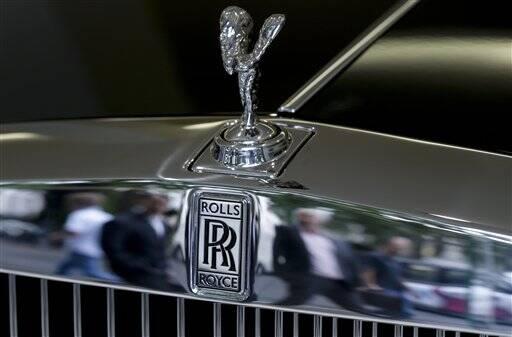 Rolls-Royce no Reino Unido. Foto: AP