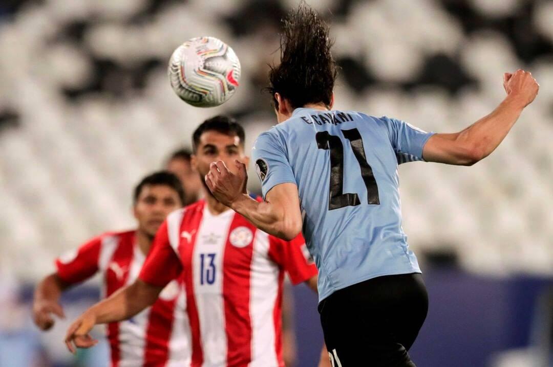 Uruguai x Paraguai. Foto: Reprodução / Instagram Copa América