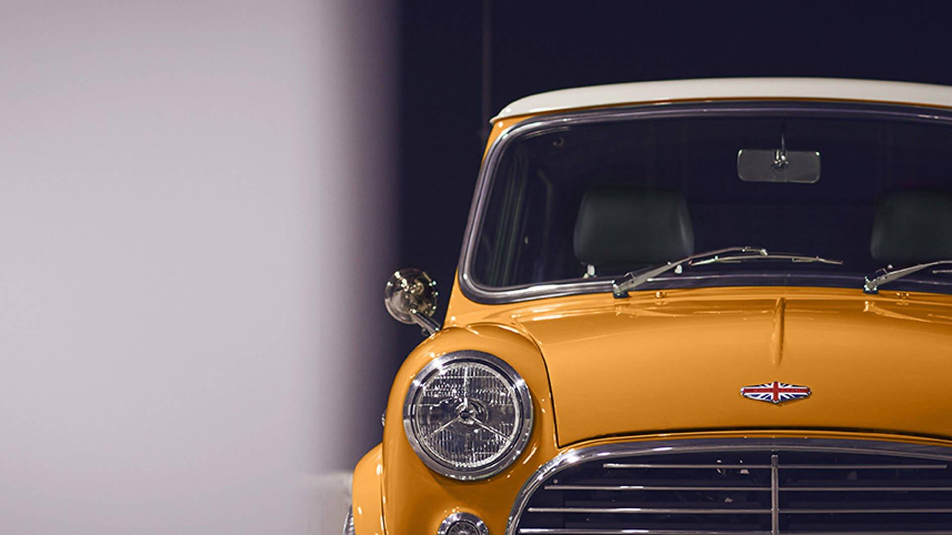 Mini Cooper Remastered. Foto: Divulgação